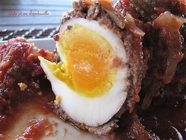 Boulettes aux œufs à la libanaise