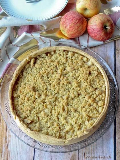 Tarte crumble aux pommes (2)