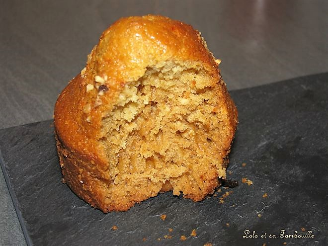 Muffins au miel