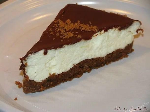 Entremet à la mousse de poires & glaçage au chocolat