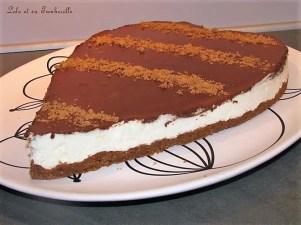 Bavarois à la mousse de poire et ganache chocolat (3)