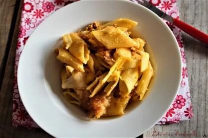 Gratin de pâtes au chorizo (1)
