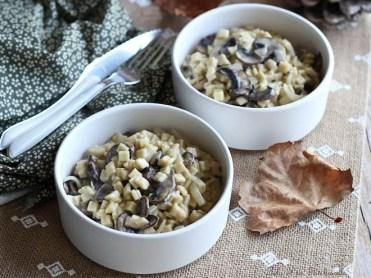 Crozettos aux champignons (2)