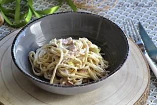 Spaghettis aux poireaux & ricotta (5)