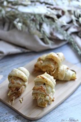 Mini croissants jambon & savora (2)