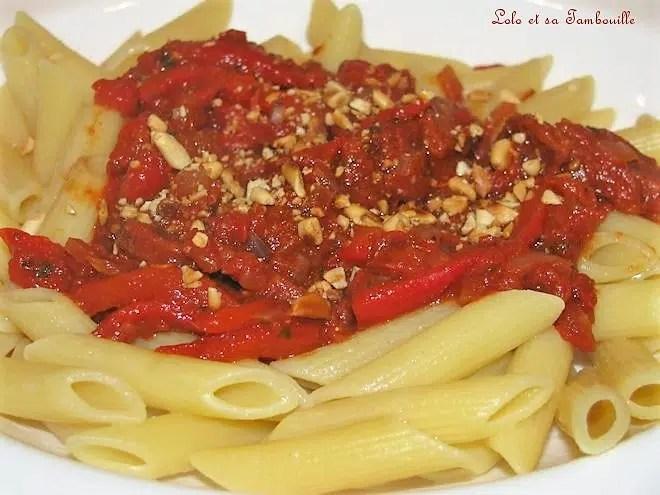 Pennes à la compotée de tomate au balsamique