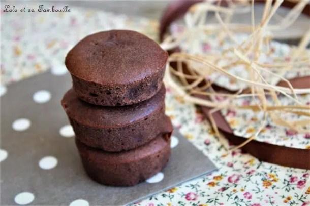 Bouchées fondantes au chocolat