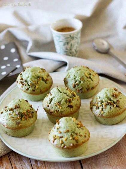 Muffins à la pistaches (9)
