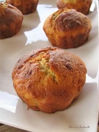 Muffins à la banane coeur de nutella (6)