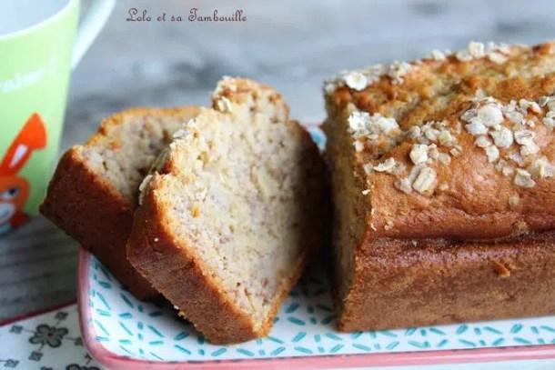 Cake à la banane {extra moelleux}