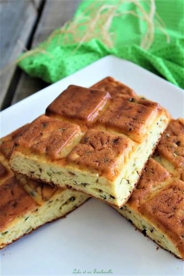 Gâteau aux courgettes & fromage frais (5)