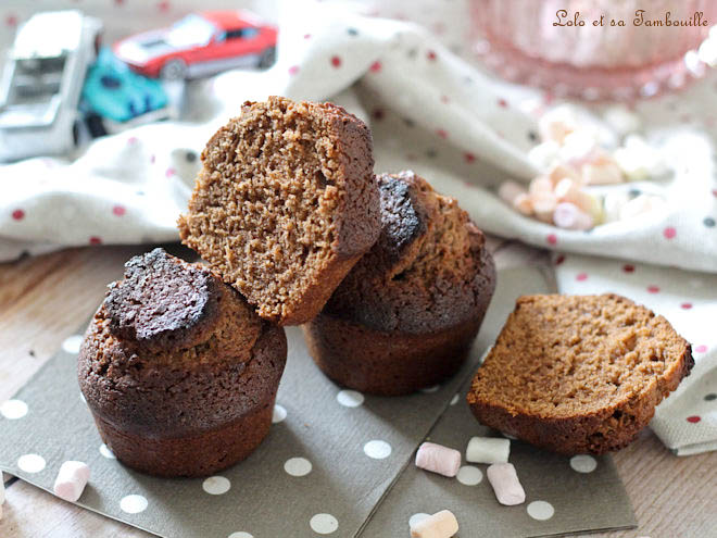 Muffins chocolat lait