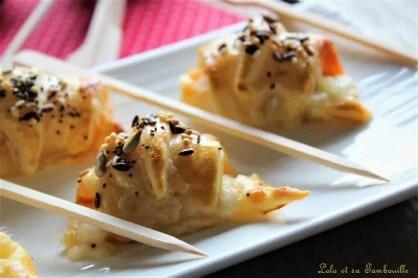 Croissants au chorizo & mozzarella (5)