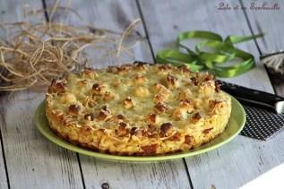 Quiche sans pâtes aux coquillettes (2)