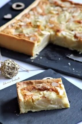 Tarte amandine aux poires (4)