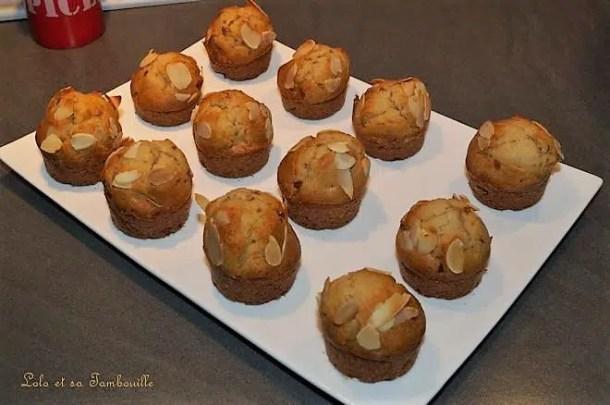 Moelleux à la confiture de pomme tatin au caramel