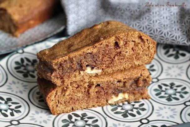 Brownie à la pralinoise