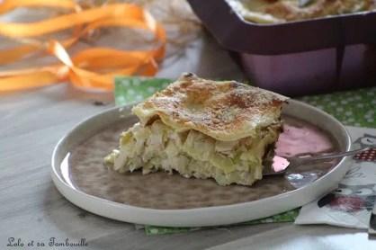 Lasagnes aux poireaux & saumon (1)