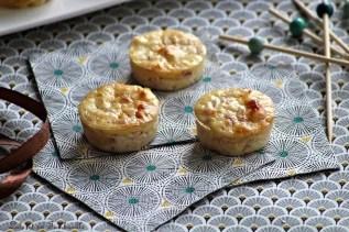 Bouchées au jambon & fromage (2)