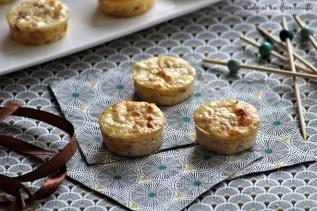 Bouchées au jambon & fromage (4)