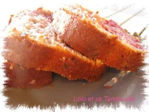 Cake aux framboises (1)