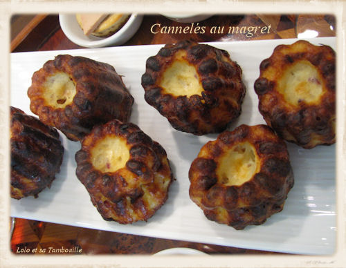Mini cheesecakes au foie gras