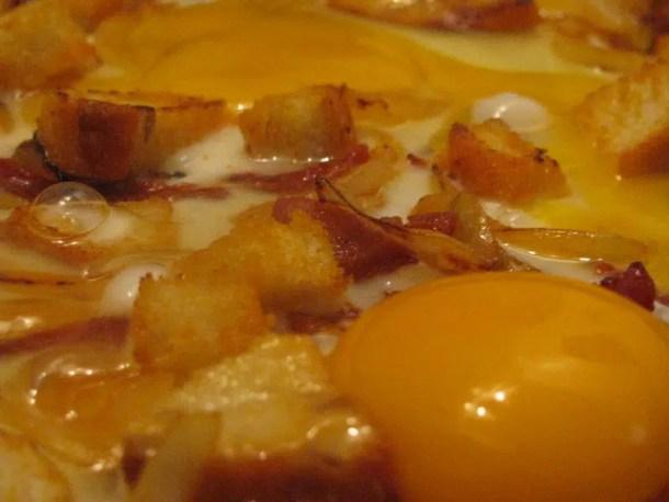 Oeufs au plat catalans