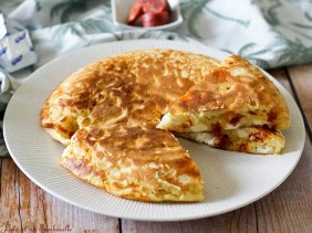 Gâteau salé au chorizo & kiri (2)