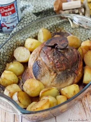 Rouelle de porc au sirop d'érable (2)