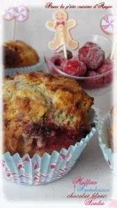 muffins aux framboises choc blanc et tonka angie
