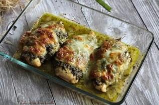 Poulet au pesto & mozzarella (1)