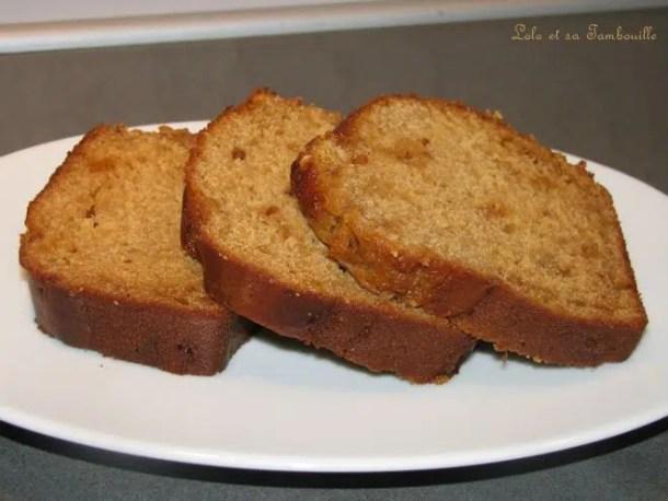 Cake à la ricotta & confiture de lait à la noisette