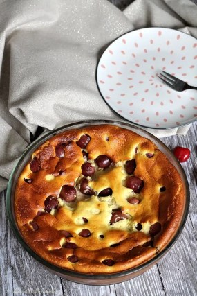 Gâteau léger aux cerises (6)