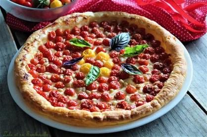 Tarte fine aux tomates cerises (2)