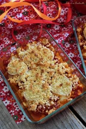 Crumble de tomates chèvre & miel (4)