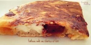 gâteau salé au chorizo et kiri cooking rooxxyy