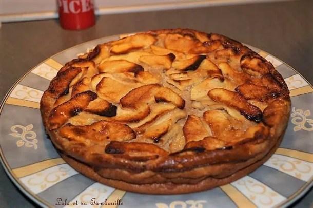 Clafoutis de pommes aux carambars