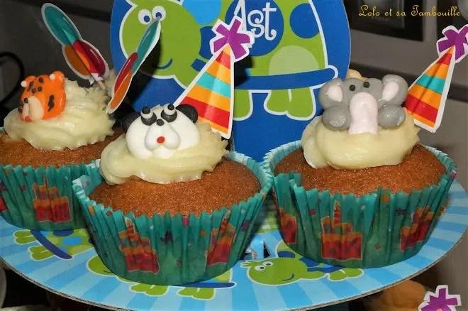 Cupcakes A La Vanille Lolo Et Sa Tambouille