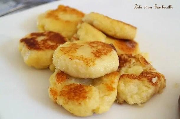 Gnocchis au parmesan & comté