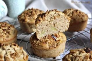 Muffins aux pommes & noisettes (6)