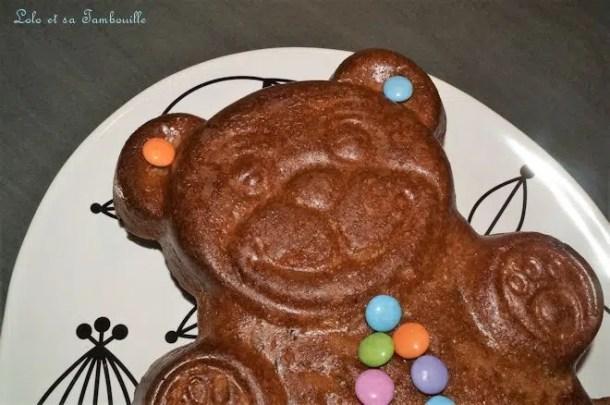 Ourson au chocolat praliné