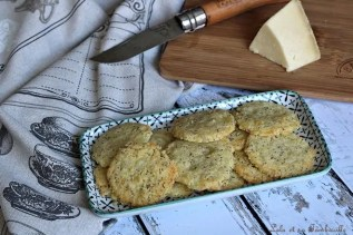 Sablés au cantal & graines de pavot (2)
