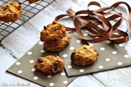 Cookie aux carottes & aux noix (4)