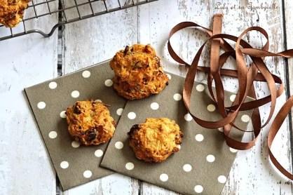 Cookie aux carottes & aux noix (5)