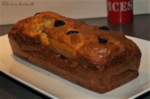Cake marbré au pesto rosso & coppa