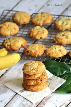 Cookies à la banane & chocolat (4)