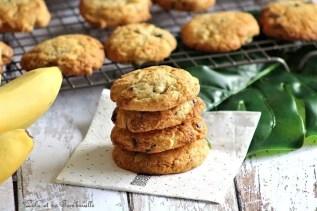 Cookies à la banane & chocolat (6)