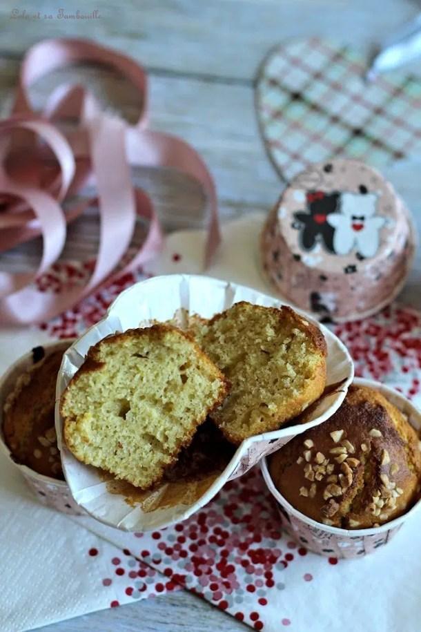 Muffins à la cannelle & vanille