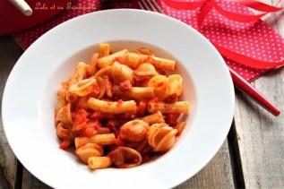 Un plat de pasta