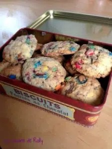 Cookies-M-Ms Rolly